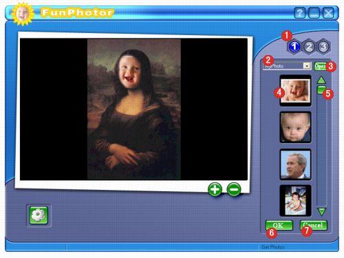 برنامج FunPhotor 2.71 لتحرير الصور يقوم بعمل دمج للوجوه .... 2