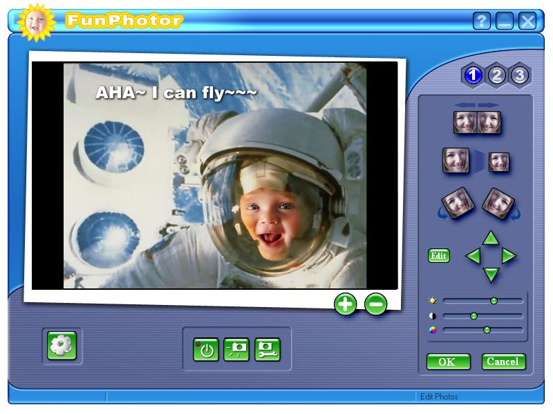 Click to view FunPhotor 2.4 screenshot